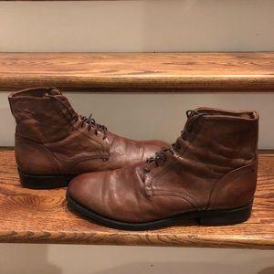 Frye men's boots sz 11.5 cognac